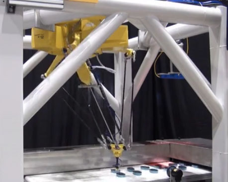 FANUC M-2iA高速分拣装配搬运机器人视频